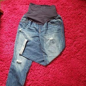 Old Navy Maternity Capri Jeans size 8